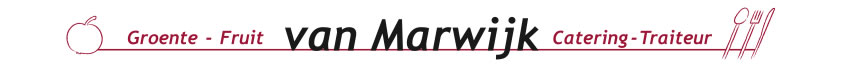 Catering traiteur Van Marwijk Elst contact