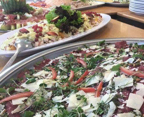 Buffet van Van Marwijk catering