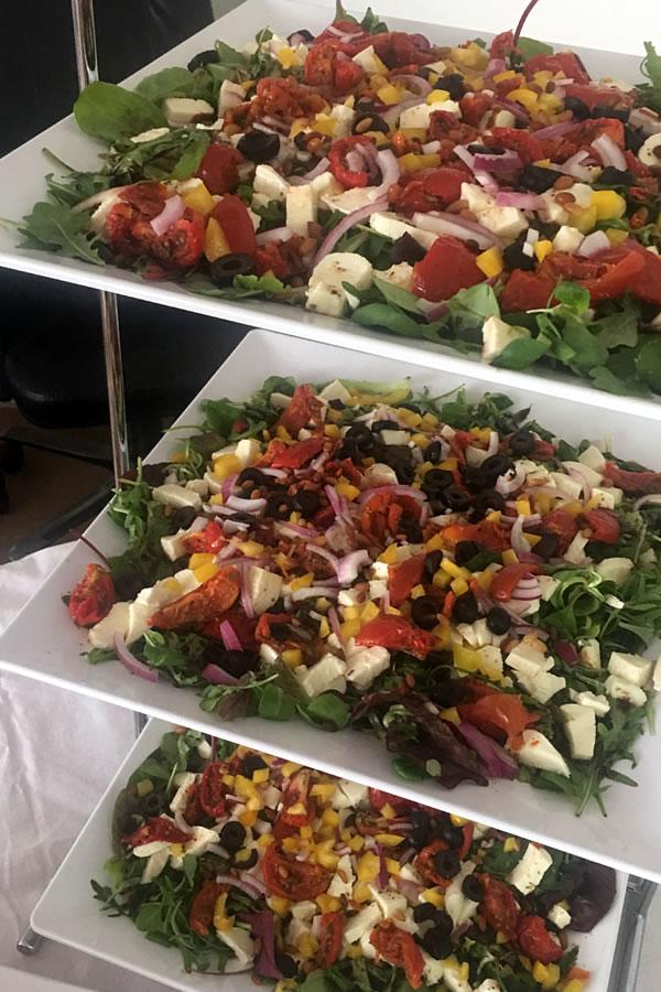 griekse salades Van Marwijk catering