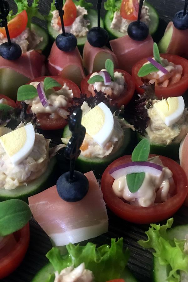 koude hapjes Van Marwijk catering Elst
