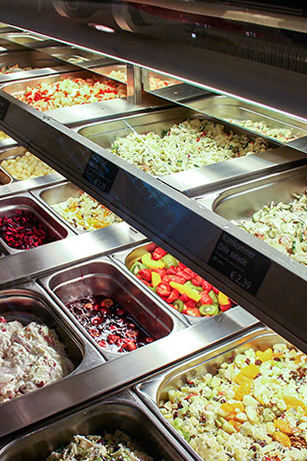 rauwkost salades Van Marwijk trainteur